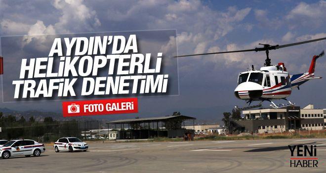 Helikopter ve drone destekli trafik kontrolü