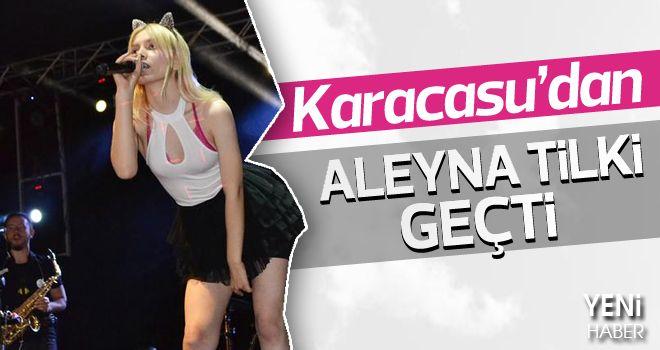 Karacasu'da Aleyna Tilki rüzgarı esti