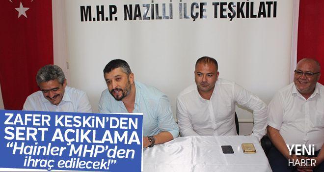 Zafer Keskin: Hainler MHP'den ihraç edilecek!
