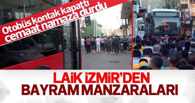 İzmir'de bayram namazı