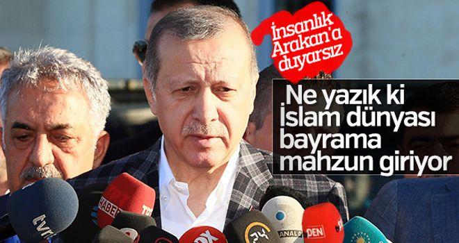 Erdoğan Hz. Ali Camii'nde