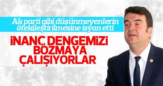 """""""Türkiye'nin inanç dengesi ile oynamayın"""""""