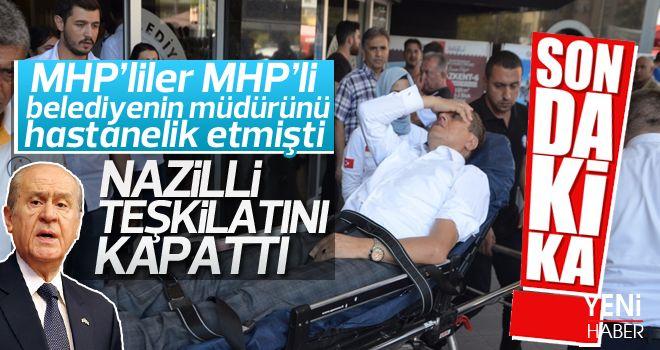 MHP Nazilli teşkilatı kapandı