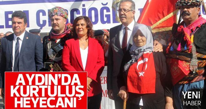 Aydın'da 7 Eylül coşkusu