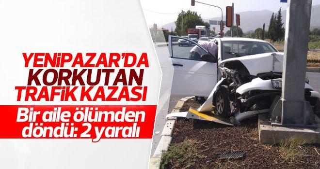 Otomobil TIR ile çarpıştı: 2 yaralı
