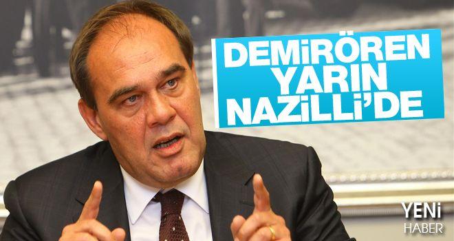 Nazilli'de Kendi İsmini Taşıyan Tesisin Açılışını Yapacak