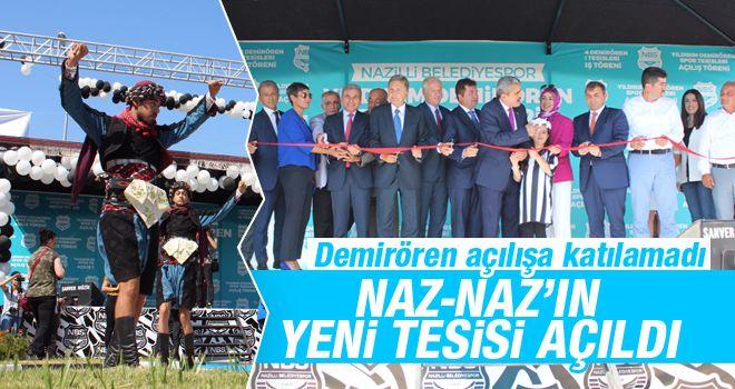 NAZ-NAZ'da açılış heyecanı