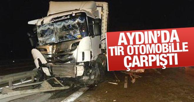Aydın'da feci kaza, 2'si çocuk 3 yaralı