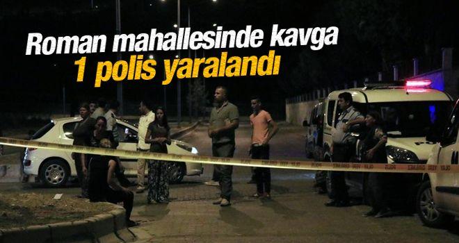 Aydın'da kavga: 1 polis yaralı
