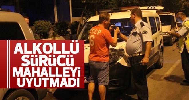 Aydın'da alkollü sürücü, polise zor anlar yaşattı