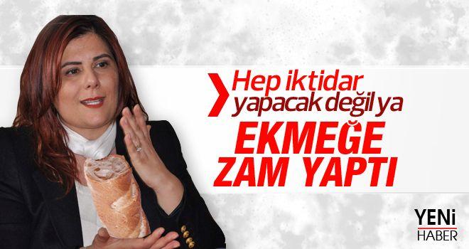 Aydın'da halk ekmek zamlandı
