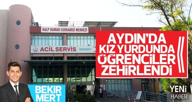 Aydın'da Üniversiteliler zehirlendi