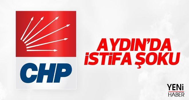 Aydın CHP'de istifa şoku