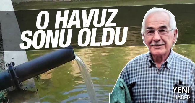 Karacasu'da esnaf havuzda ölü bulundu