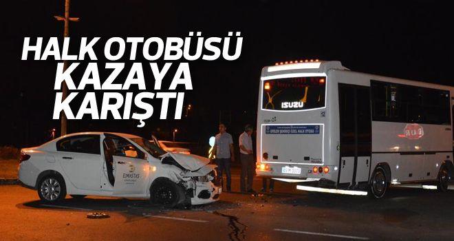 Aydın'da dikkatsizlik kazaya neden oldu