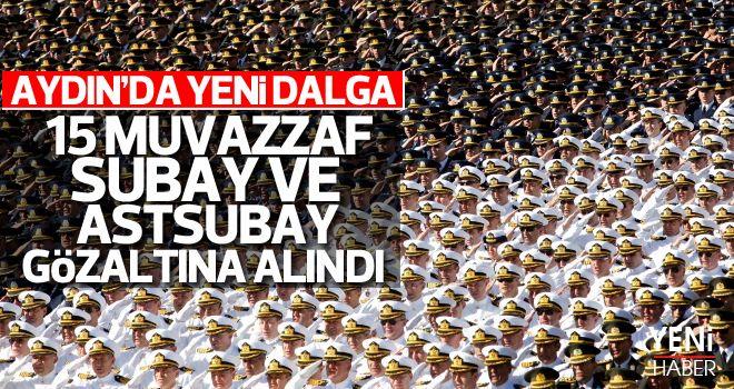 Aydın'da TSK'ya FETÖ operasyonu