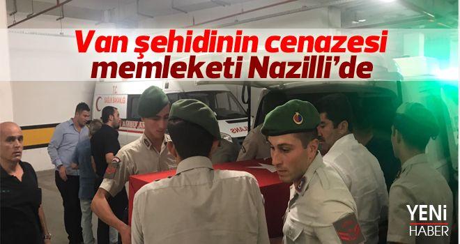 Şehit Acun'un cenazesi Nazilli'ye getirildi