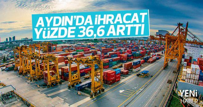 Aydın'da İhracat Yüzde 36,6 Arttı