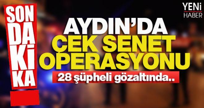 Dev Operasyon; 28 gözaltı