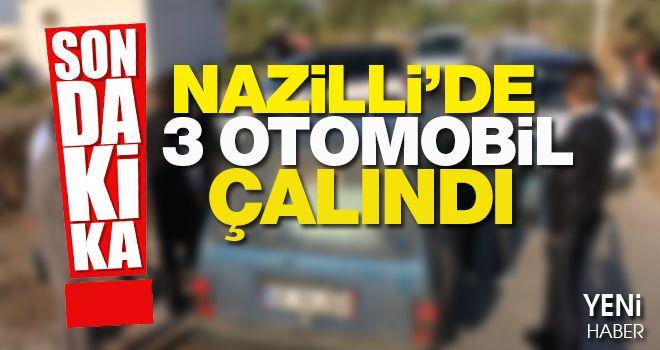 Nazilli'de otomobil hırsızlığı