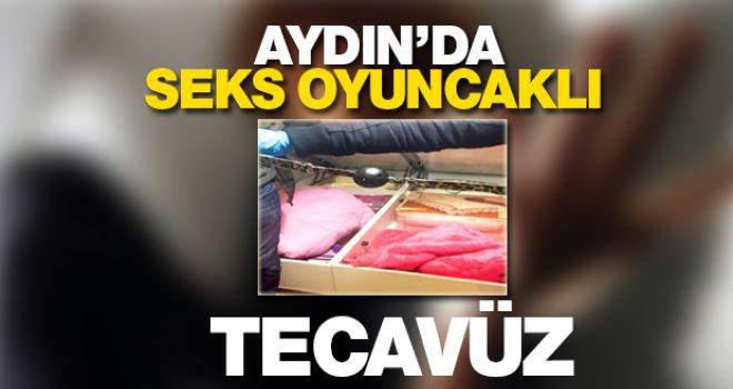 Aydın'da fantezi oyuncaklı tecavüz!