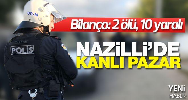 Nazilli'de silahlı çatışma