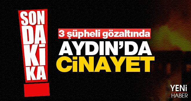 Aydın'da silahlı kavga: 1 ölü