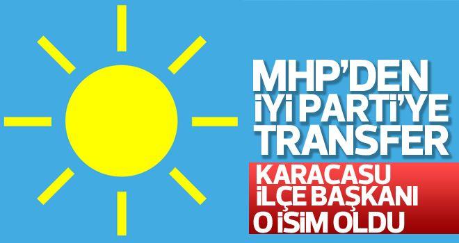 İyi Parti Karacasu ilçe başkanı o isim oldu