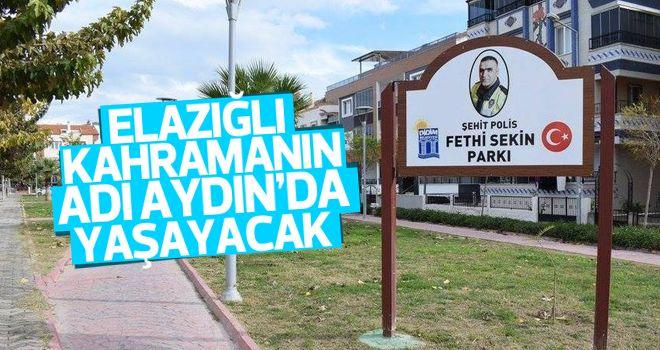 Didim'de 'Şehit Polis Fethi Sekin' parkının açılışı yapılacak
