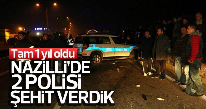Nazilli'de 2 şehit polis anılacak