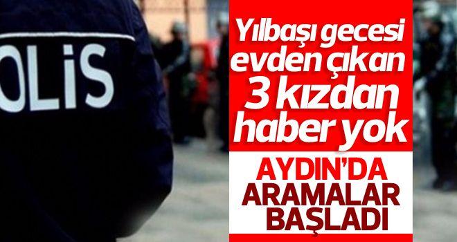 Aydın'da 3 kızın kaybolduğu iddiası