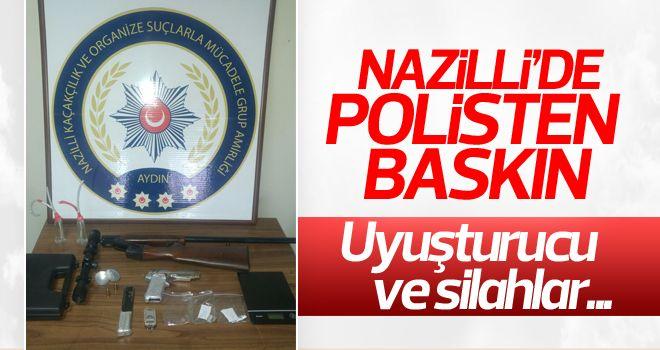 Nazilli'de polisten şok baskın