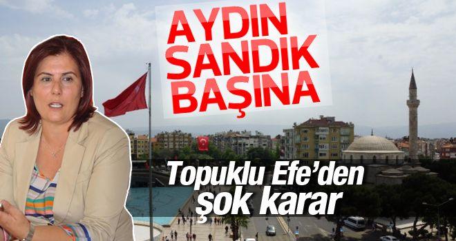 Aydın'da oylama yapılacak