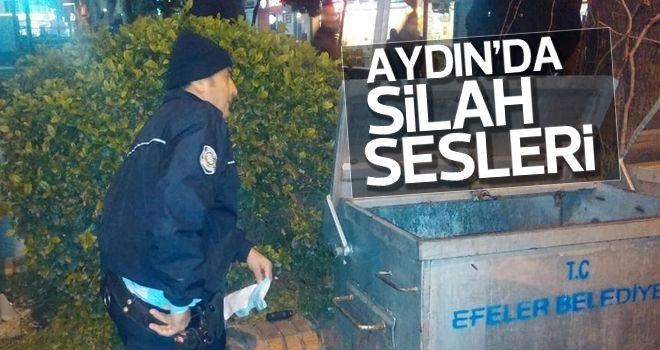 Aydın'da silah sesleri