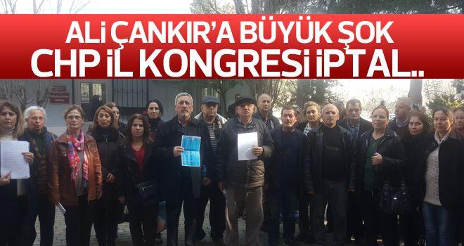 CHP Aydın İl Kongresine iptal talebi