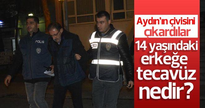 Aydın'da 14 yaşındaki erkeğe tecavüz!