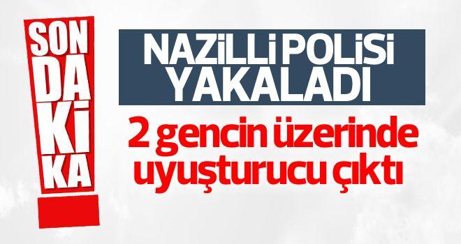 Nazilli polisi az önce yakaladı