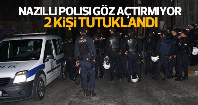 Nazilli'de uyuşturucuya 2 tutuklama