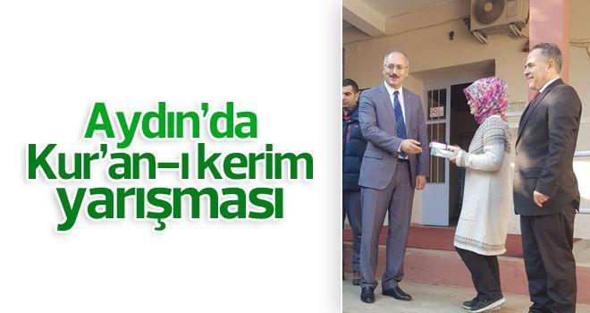 Aydın'da Kur'an-ı Kerim okuma yarışması