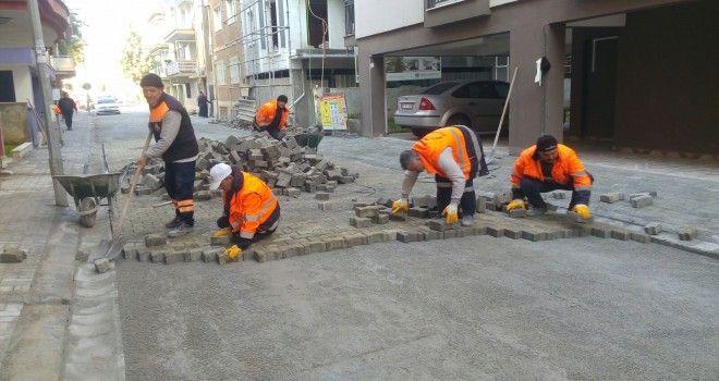 Efeler Belediyesi o yolları yeniledi
