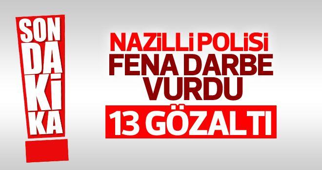 Nazilli'de zehir tacirleri kaçamıyor!