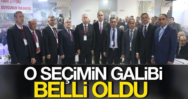 Aydın'da Şoförler ve Otomobilciler Odası başkanlığına Özmeriç seçildi