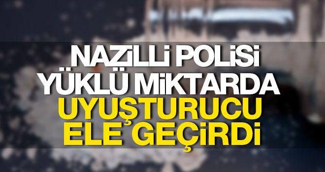 Nazilli polisi yakaladı