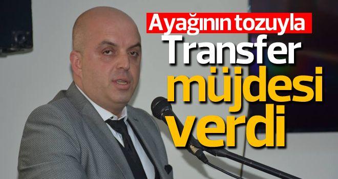 Türker'den transfer sözü
