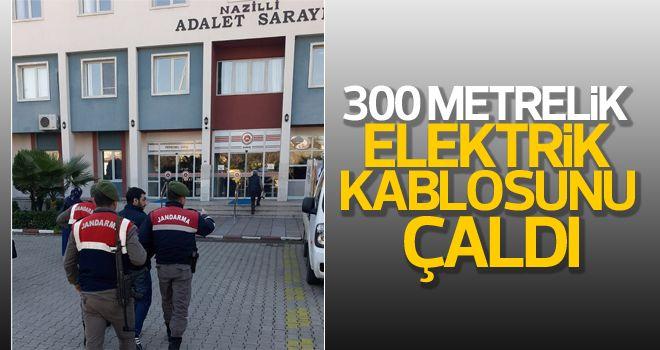 Buharkent'te kablo hırsızlığı iddiası
