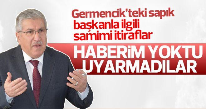 Ahmet Ertürk'ten skandalla ilgili açıklama: İstifasını ben istedim