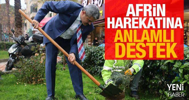 MHP'li başkan harekata destek verdi