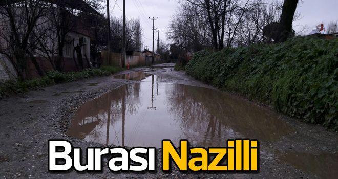 Nazilli'de yol isyanı