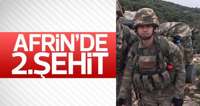 Afrin'de 2.şehit