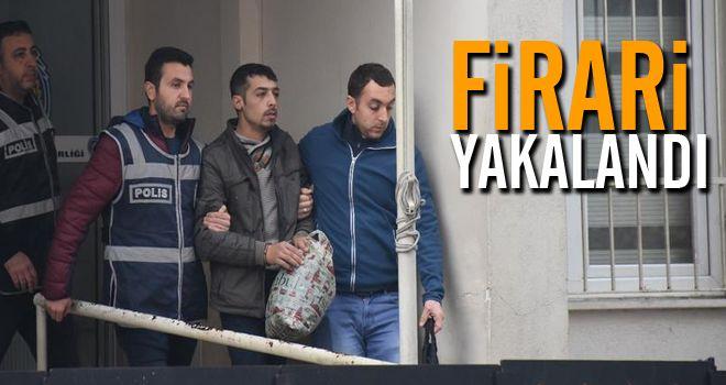 İncirliova'da firari hükümlü yakalandı